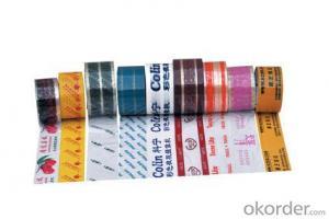Custom Printed OPP Packing Tape Decoration OPP Tape
