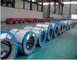 Prepainted steel coils, hot-dipped galvanized, RAL system, with good corrosion resistance