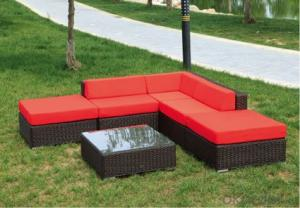 Patio Rattan  Day Bed  for Wicker Outdoor Chair Garden