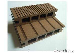 Wood Plastic Composite Decking Made in China