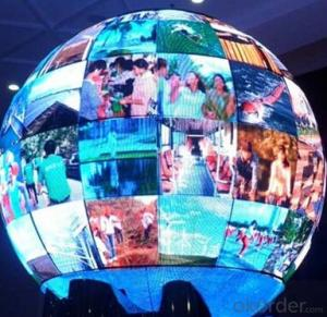 LED Display with 1m Diameter P6/P10 Full Color Indoor /Outdoor Big Ball Advertising