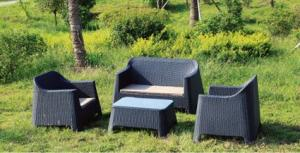 Rattan  Table Dining for Wicker Outdoor Chair Garden used