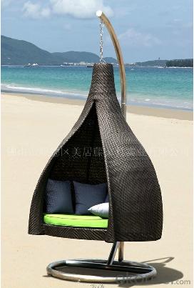 Garden  Aluminum Frame Patio Furniture Wicker Chair PE Rattan Outdoor