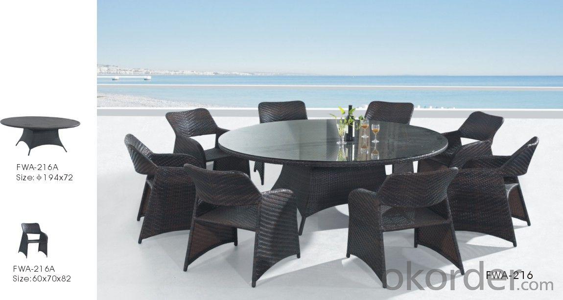 Garden Wicker Aluminum Frame PE Rattan Outdoor Patio Furniture