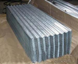 Hot-Dip Galvanized Steel Roof with Best Quality