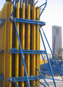 The Timber Beam Formwork for Construction Building