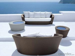 Patio Rattan  Sofa for Outdoor Chair Garden Wicker