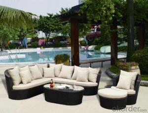 Patio Rattan Sofa for Outdoor use in Garden