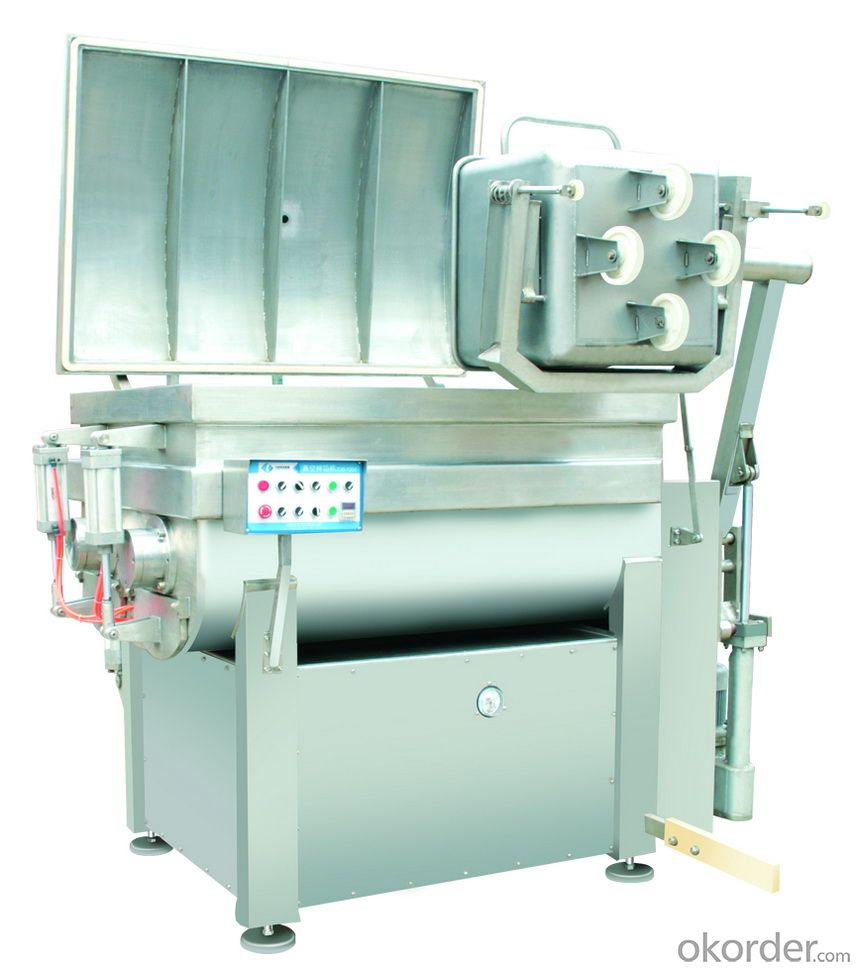 FOOD MECHANISM    Meat Vacuum Mixer series