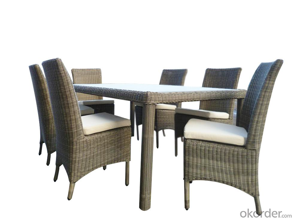 Rattan Outdoor  Garden Wicker Sofa Aluminum Frame PE Patio Furniture