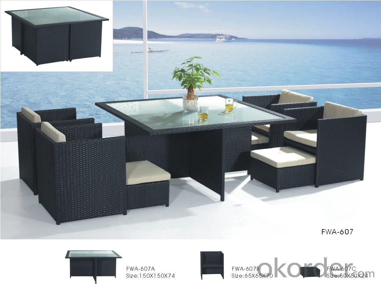 buy garden patio furniture wicker chair aluminum frame pe. Black Bedroom Furniture Sets. Home Design Ideas