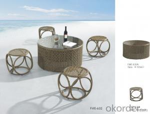 Garden Wicker Sofa Aluminum Frame  Rattan Outdoor Patio Furniture