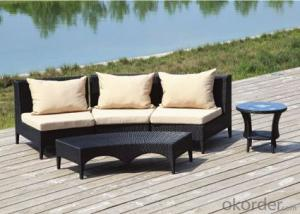 Patio Rattan Table Sofa for Wicker Outdoor Chair Garden