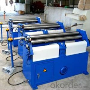 Mechanical 3-Roller Symmetrical Plate Rolling Machine