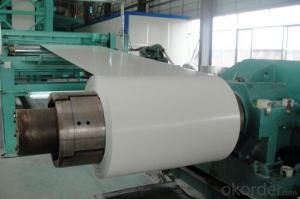 Prepainted galvanized rolled steel coils