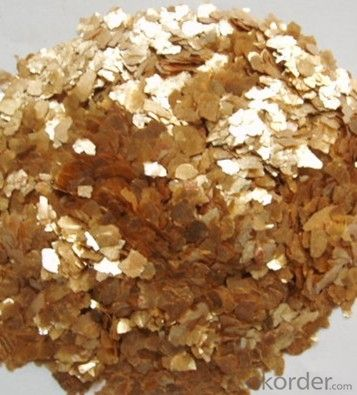 Golden Mica  Used for  Refractory  Field