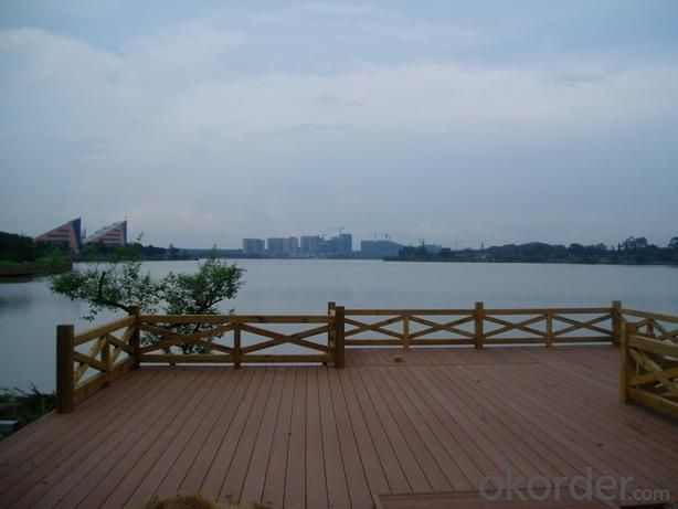 China Manufacturer of floors pools wood plastic composite WPC deck