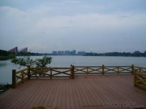 Eco-friendly WPC Outdoor Decking From China