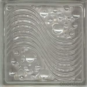 Hollow Glass block Used for Building House