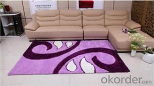Shaggy Carpets 3d Polyester Morden Fashion