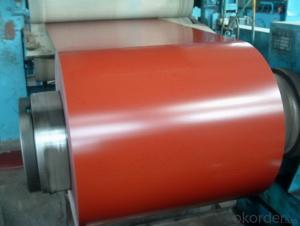 color coated galvanized rolled steel coils
