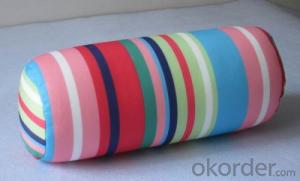 Tube shape beads pillow for your living room