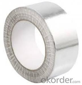 Aluminum Foil Tape Synthetic Rubber Based Acrylic