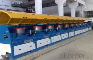 STRAIGHT-LINE WIRE DRAWING MACHINE FOR CARBON WIRE