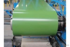 Prepainted Galvanized Rolled Steel Coil-DX51D in China