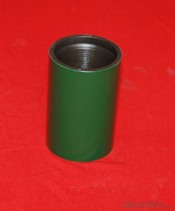 Tubing Coupling of Size 2-3/8 NU J55 with API 5CT Standard