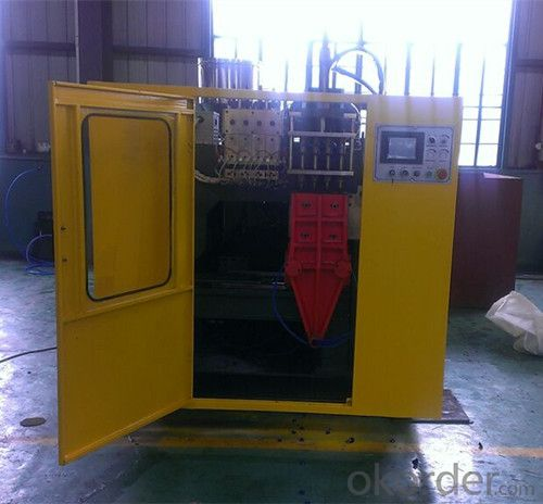 Plastic Bottle Making Machine Single Station Max Volume 5L
