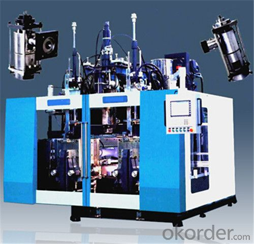 Extrusion Blowing Machine for 5L HDPE Bottle Single Station