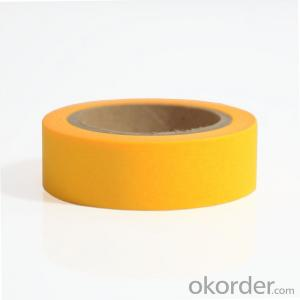 Masking Tape Colorful Crepe Paper for Shoe Material