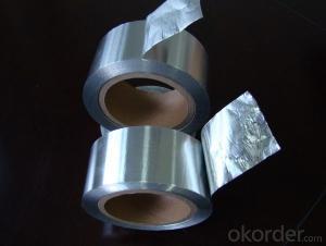 Aluminum Foil Tape Solvent Based Acrylic for Against the Moisture