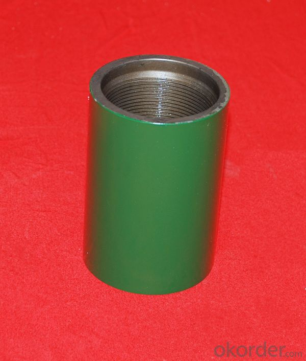 Tubing Coupling of Size 2-3/8 EU J55 with API 5CT Standard