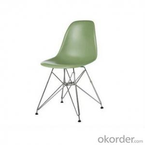 modern metal base replica charles eames wire chair