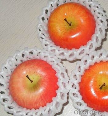Tapered Foam Mesh Net for fruit/flower/bottle