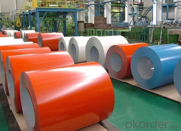 Colored Coated Stainless Zinc Steel Coils of Building Materials