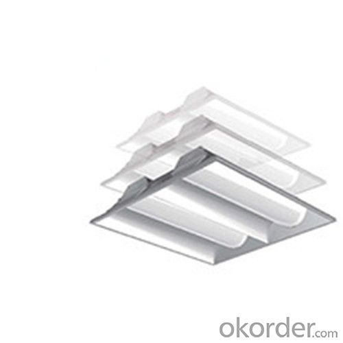 LED Recessed Troffer Artemis series DP1201-2X4-LED60W/50