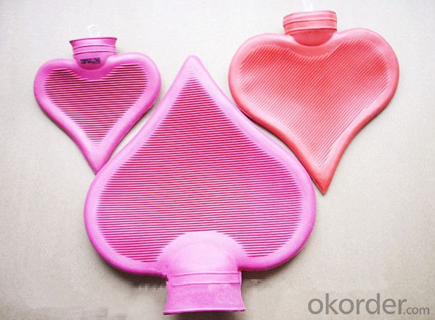 Heart Shape Hot Water Bottle Particular BS Quality