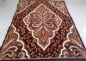 Fireproof Bedroom 100% Acrylic Carpet Rug