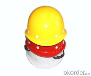 Safety helmet with High quality led flash light