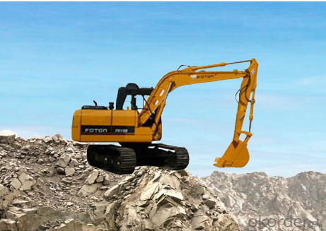 Excavator : FR260, Rexroth Positive Flow System
