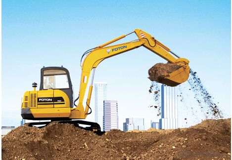 Excavator : FR210,Adequate Technology for Earthmoving Operation