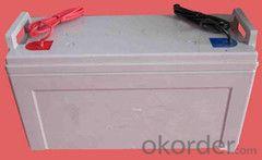 lead-acid battery Toyo AGM VRLA deep cycle 12V 120AH