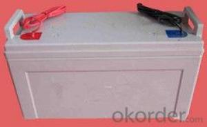 lead-acid battery Toyo AGM VRLA deep cycle 12V 120AH
