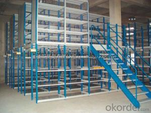 Mezzanine Type Pallet Racking Shelves for Warehouse
