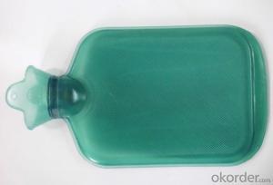 PVC Hot Water Bottle 2000ml Translucent Type