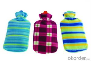 Fleece Hot Water Bottle Cover for 2000ml Hot Water Bottle
