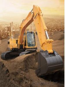 Excavator : FR150, Intercrossing Constant Power Negative Flow Control of Kawasaki
